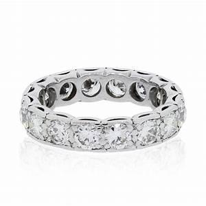 Platinum 32ctw Diamond Eternity Wedding Band