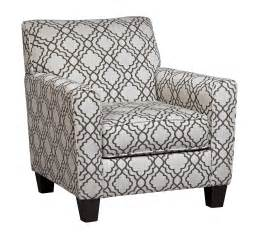 ashley furniture farouh pearl accent chair  classy home