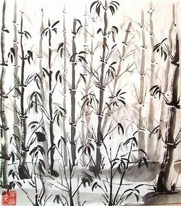 chinese ink painting - bamboo | Art - Drawing | Pinterest