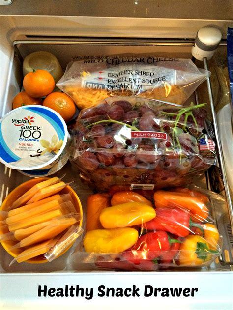 healthy snacks desk drawer caramel apple trail mix