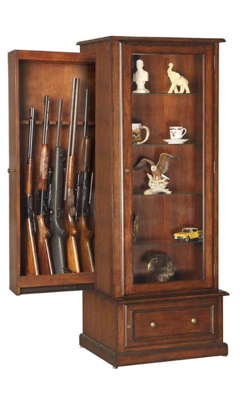 build diy hidden gun cabinet bookcase plans plans wooden