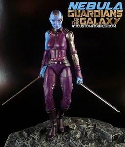 Nebula GOTG Movie Style (Marvel Legends) Custom Action ...