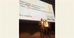 Prisuddeling  Jacob Mchangama Og Frederik Stjernfelt Modtager Blixenprisen - Justitia
