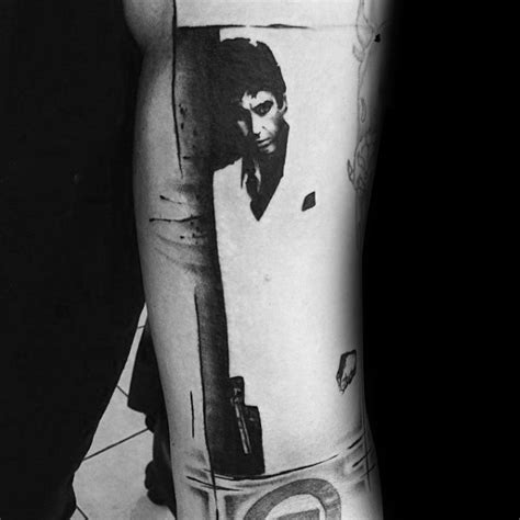 scarface tattoo design ideas  men al pacino ink