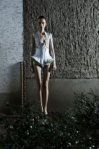coute  coute malgorzata dudek gigers goddess springsummer  womens collection