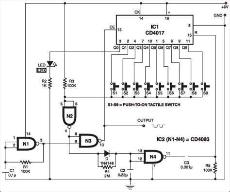 pulse generator detailed circuit diagram available