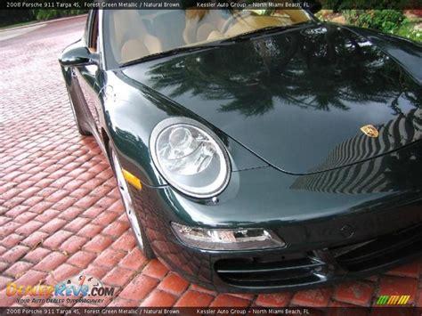2008 Porsche 911 Targa 4s Forest Green Metallic Natural