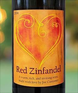 Romantic Custom Wine Labels