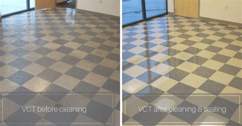 vct cleaning  sealing commercial cleaning restoration