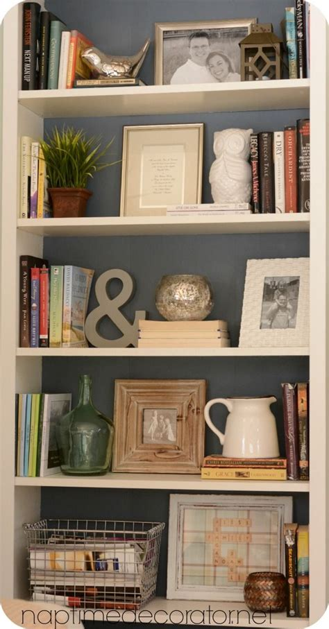 Decorating Bookshelves Without Books by While These Items Aren T Necessarily What Would Go With