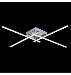 Led Deckenleuchte 4 Flammig : deckenleuchte design led chrom 4 flammig platz yuna ~ Whattoseeinmadrid.com Haus und Dekorationen