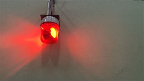 Siren Light by Emergency Signal Siren Light On Concrete Wall