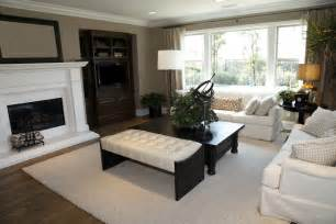 Dark Brown Sectional Living Room Ideas by 50 Beautiful Living Rooms With Ottoman Coffee Tables