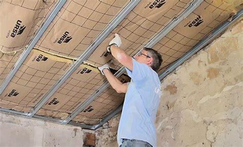 amenagement sous sol en chambre isolation thermique d 39 un plafond sous rant
