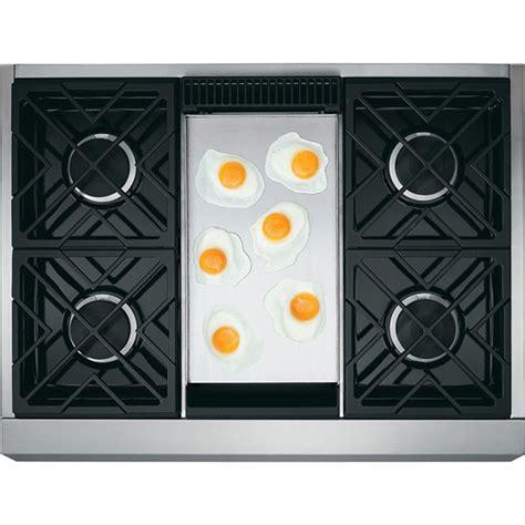ge monogram zgundpss   burner cooktop