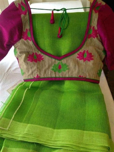 simple blouse  neck designs simple craft ideas