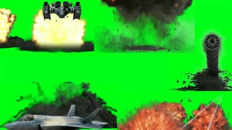 green screen top blastcrash explosion effects plane