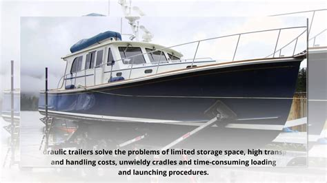 Boat Trailer Youtube by Custom Hydraulic Boat Trailer For Sale Youtube