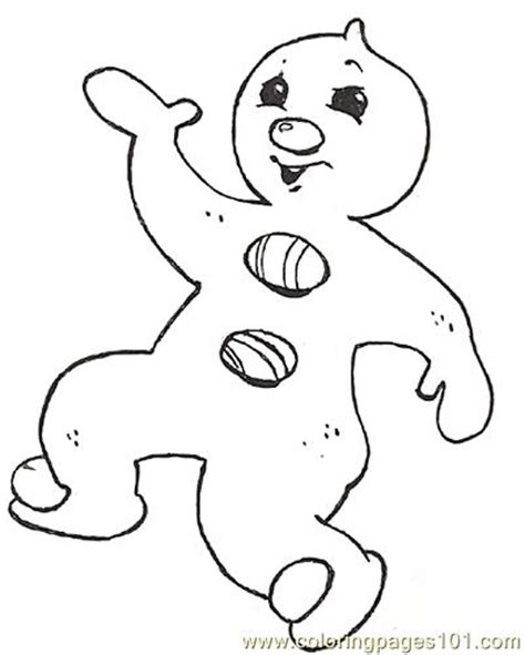 gf mural gingerbread baby pizzazz reversed coloring page