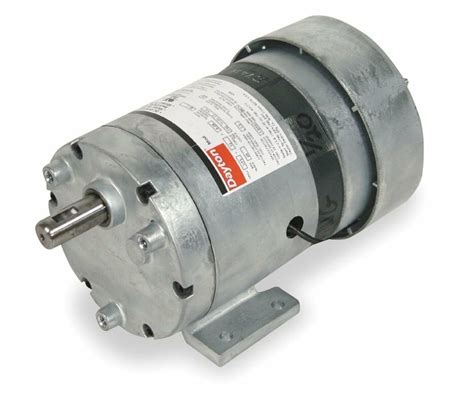 Gear Motor by Dayton Model 1lpn8 Gear Motor 2 Rpm 1 20 Hp 115v 3m125
