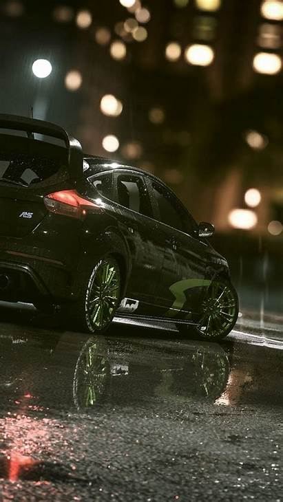 Focus Ford Rs Wallpapers Iphone Rain Background