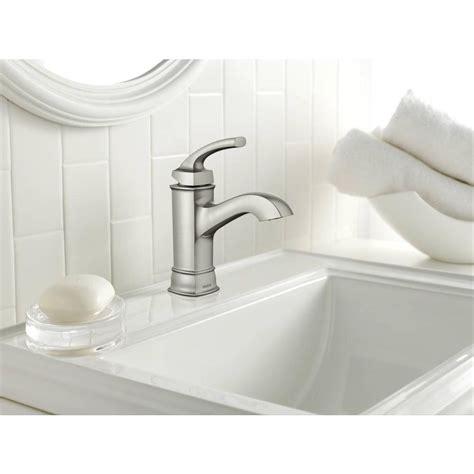 moen kitchen sinks and faucets moen danika bathroom faucet 9285