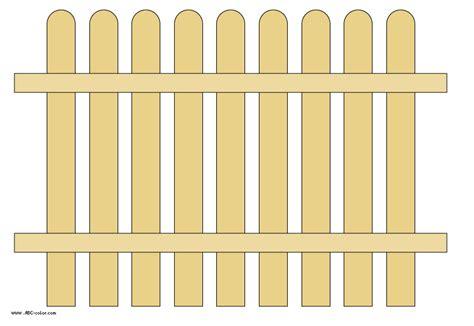 Garden White Fence Clipart