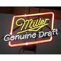 Miller Neon Sign