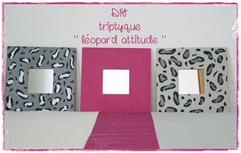 diy d馗o chambre diy déco chambre d 39 ado un triptyque léopardesque les p 39 tites décos de