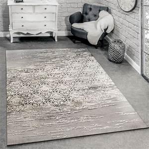 Teppich Orientalisch Modern : designer teppich meliert grau beige design teppiche ~ Sanjose-hotels-ca.com Haus und Dekorationen