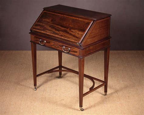 bureau writing desk mahogany bureau writing desk by maple co antiques atlas