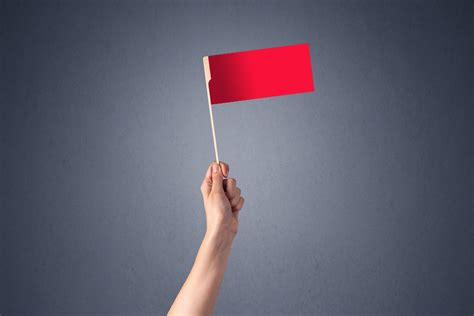 red flags      raising major gifts