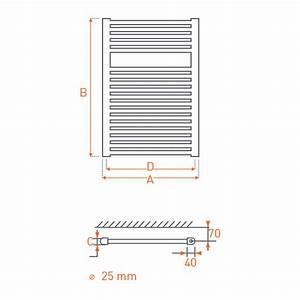 Radiateur Acier Eau Chaude : radiateur acier s che serviettes eau chaude rail 800x550 ~ Premium-room.com Idées de Décoration
