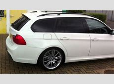 BMW 3 Series Estate E90 with medium tints on the rear