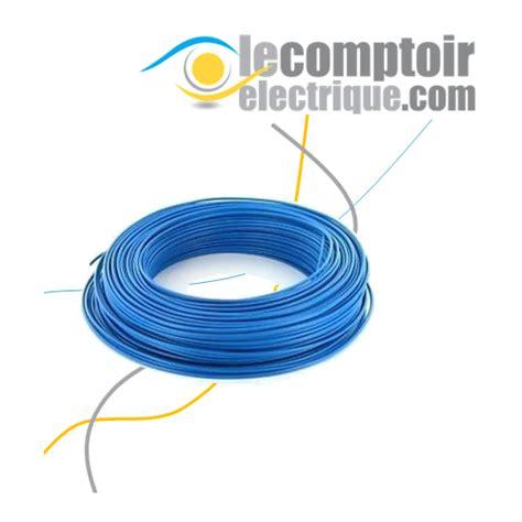 h07v k 1 5mm2 fils souple h07v k 1 5mm2 bleu couronne de 100m