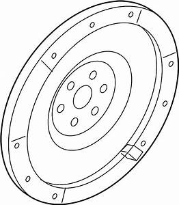 Ford Fusion Clutch Flywheel  2 3 Liter  Manual Trans