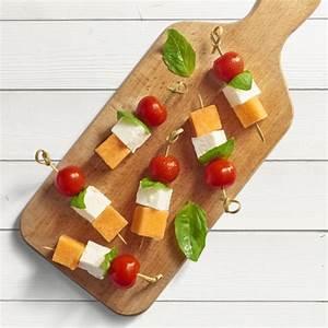 Idée Brochette Apéro : brochettes de melon recette facile salakis ~ Melissatoandfro.com Idées de Décoration