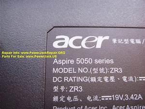 Acer Aspire 5050 Series Zr3 Dc Jack Replacement Dc Power Jack Repair