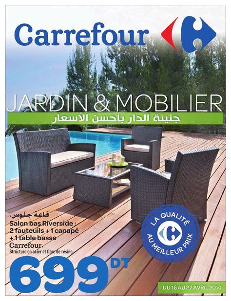 chaise de jardin leclerc catalogue carrefour quot jardin et mobilier quot by carrefour tunisie