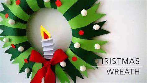 diy christmas wreath youtube