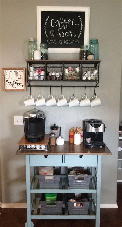 coffee bar ikea island makeover   coffee bar home