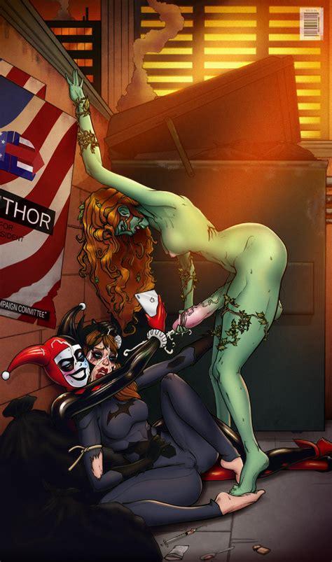 Harley Quinn Lesbian Cartoon