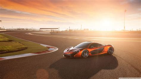 2014 Mclaren P1 Race Track 4k Hd Desktop Wallpaper For 4k