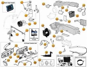 Air Conditioning  U0026 Heating Parts For Wrangler Tj