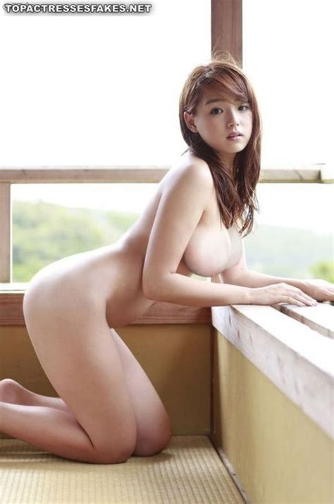 Japanese Celebrity ai shinozaki Nude Snaps With Big Boobs Celebrity Fappening