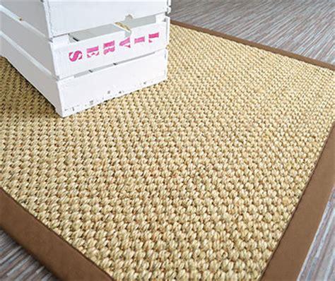 tapis sur mesure en moquette shaggy coco sisal jonc de