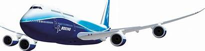 Plane Airplane Boeing Clipart Transparent Cargo Jet