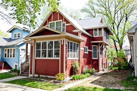 arts crafts bungalow traditional exterior chicago
