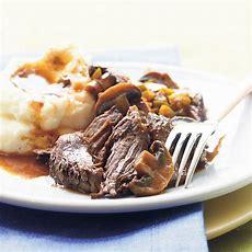 Slowcooker Beef Pot Roast Recipe Myrecipes