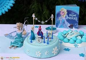 Gâteau Reine Des Neiges : cet anniversaire reine des neiges qu 39 elle attendait tant ~ Farleysfitness.com Idées de Décoration